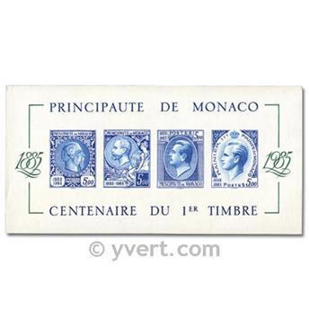 n° 33a -  Timbre Monaco Bloc et feuillets