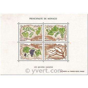 n° 38 -  Timbre Monaco Bloc et feuillets