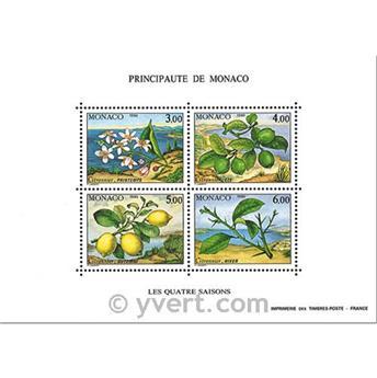 n.o 51 -  Sello Mónaco Bloque y hojitas