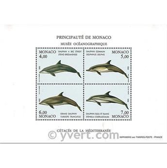 n° 56 -  Timbre Monaco Bloc et feuillets