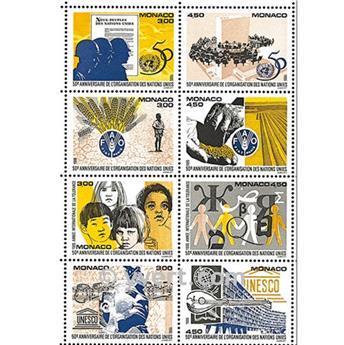 n.o 70 -  Sello Mónaco Bloque y hojitas