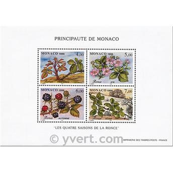 nr. 74 -  Stamp Monaco Souvenir sheets