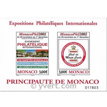 nr. 88 -  Stamp Monaco Souvenir sheets
