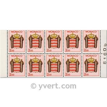nr. 2 -  Stamp Monaco Booklet Panes