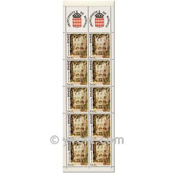 nr. 6 -  Stamp Monaco Booklet Panes