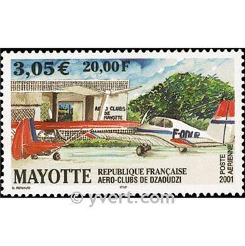 n° 5 -  Timbre Mayotte Poste aérienne