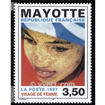 n° 47 -  Timbre Mayotte Poste