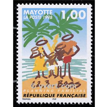 n° 54 -  Timbre Mayotte Poste