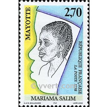 nr. 58 -  Stamp Mayotte Mail