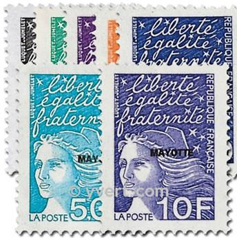 n° 62/68 -  Timbre Mayotte Poste
