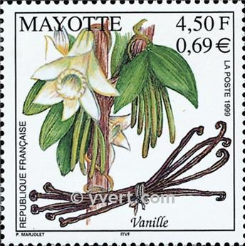 n.o 78 -  Sello Mayotte Correos