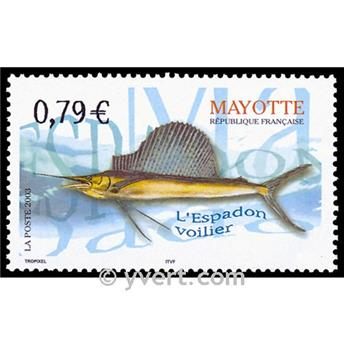 n.o 143 -  Sello Mayotte Correos