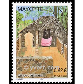 n.o 147 -  Sello Mayotte Correos
