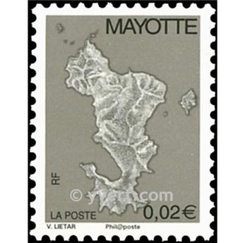 n.o 151a -  Sello Mayotte Correos