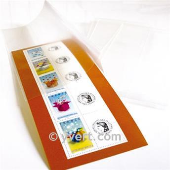Pochettes double soudure - Lxh:235x58mm (Fond transparent)