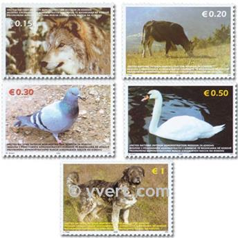 nr. 45/49 -  Stamp Kosovo - UN interim administration Mail