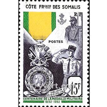 n° 284 -  Selo Somalilândia Francesa Correios