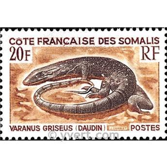 n° 328 -  Timbre Cote des Somalis Poste