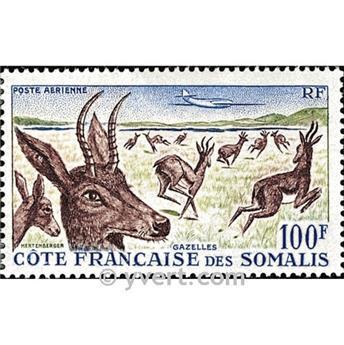 n° 26 -  Timbre Cote des Somalis Poste aérienne