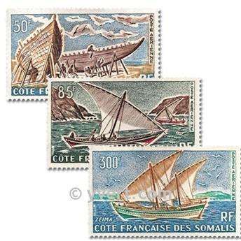 n.o 38 / 40 -  Sello Somalia francesa Correo aéreo