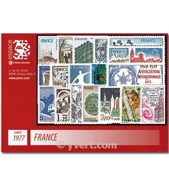 n° 1914/1961  - Timbre France Année complète  (1977)