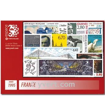 n° 2918/2985  - Timbre France Année complète  (1995)