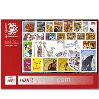n° 3632/3730  - Timbre France Année complète  (2004)
