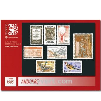 nr. 337/344 -  Stamp Andorra Year set (1985)