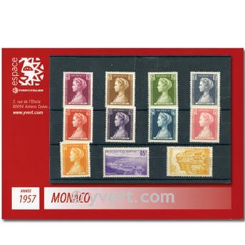 nr. 478/488 -  Stamp Monaco Year set (1957)
