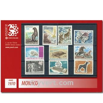 nr. 809/846 -  Stamp Monaco Year set (1970)