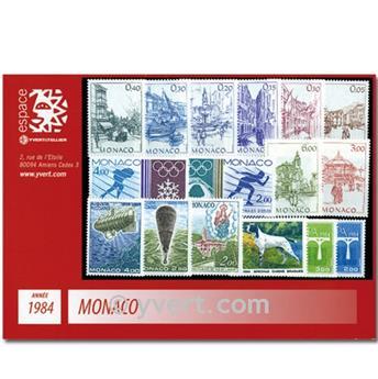 nr. 1404/1455 -  Stamp Monaco Year set (1984)