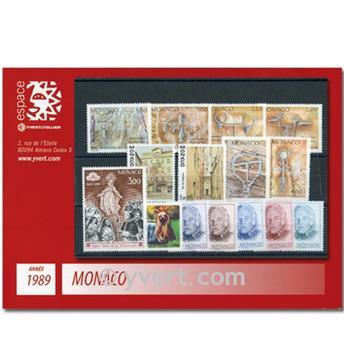 nr. 1663/1704 -  Stamp Monaco Year set (1989)