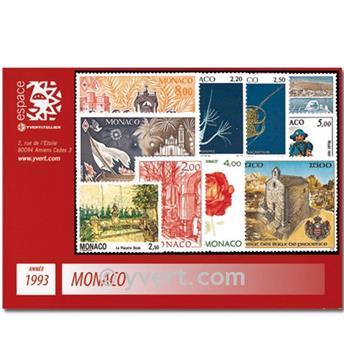 nr. 1854/1914 -  Stamp Monaco Year set (1993)