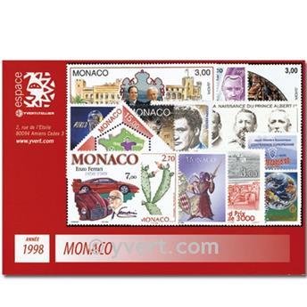 nr. 2146/2185 -  Stamp Monaco Year set (1998)