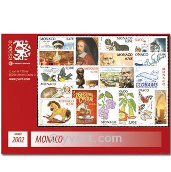nr. 2319/2381 -  Stamp Monaco Year set (2002)