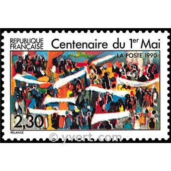 n° 2644 -  Selo França Correios