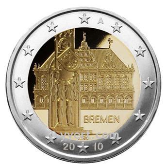 2 EUROS COMEMORATIVAS 2010: ALEMANHA (A)