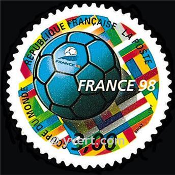 n.o 17 -  Sello Francia Autoadhesivos