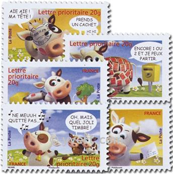 nr. 134/138 -  Stamp France Self-adhesive