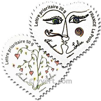 n° 148/149 -  Selo França Autoadesivos
