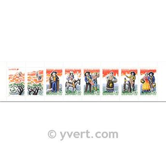 n° BC2982 -  Selo França Carnet Personalidades