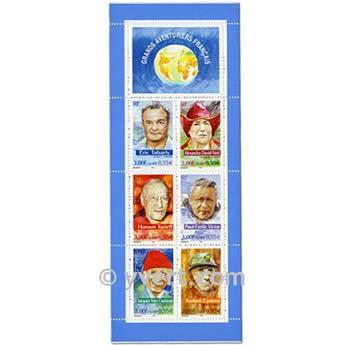 n° BC3348 -  Timbre France Carnet Personnages célèbres