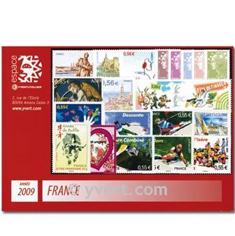 n° 4324/4430  - Timbre France Année complète  (2009)