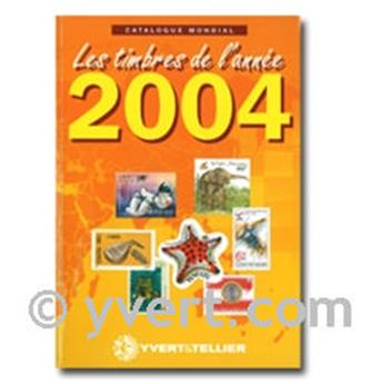 Stamps from the year 2004