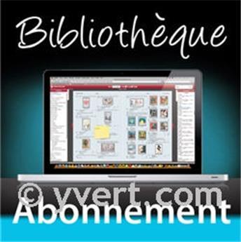 Abonnement (par an) Bibliothèque en ligne : les catalogues