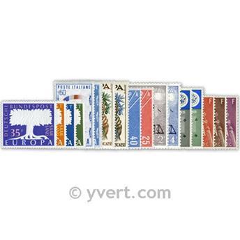 1957** - Année complète neuf EUROPA