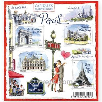 n.o 4514 / 4517 -  Sello Francia Correos