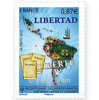 n.o 4527 -  Sello Francia Correos