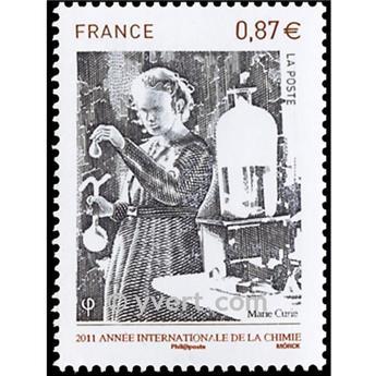n° 4532 -  Selo França Correios