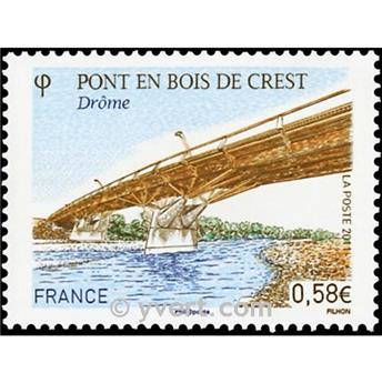 n.o 4544 -  Sello Francia Correos
